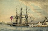 Painting of H.M.S. Rodney