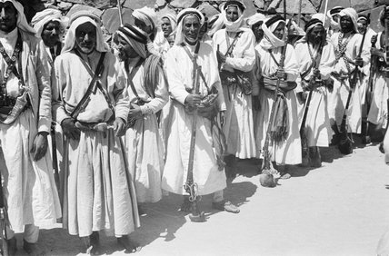 Arab men with muskets