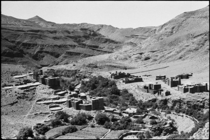 Settlement in the High Atlas Mountains