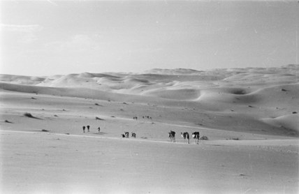 Thesiger's party in the Empty Quarter