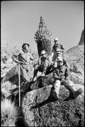 Game scouts on mount Kenya