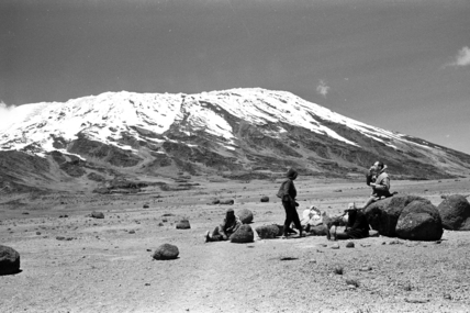 Thesiger's party on Mount Kilimanjaro