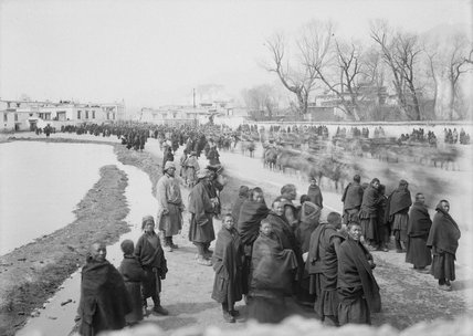 Procession in Lhasa
