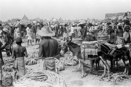 View of rope sellers at ...