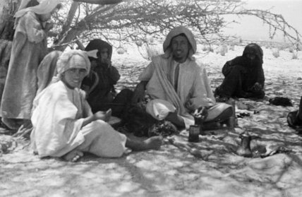 Group portrait of an Arab ...