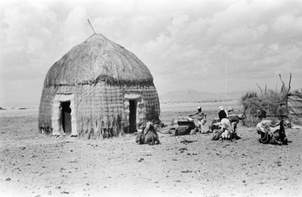 View of a hut in ...