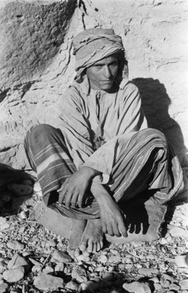 Portrait of a Bedouin boy ...