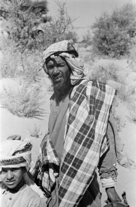 Portrait of two Duru Bedouin ...