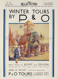 P&O Winter Tours Advert, 1933