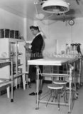 A Senior Sister in CANBERRA's operating theatre