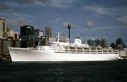 FAIRSTAR at Sydney, Australia