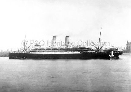 ORVIETO with tender alongside