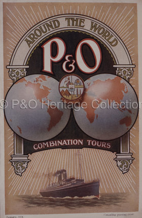P&O Combination Tours Brochure