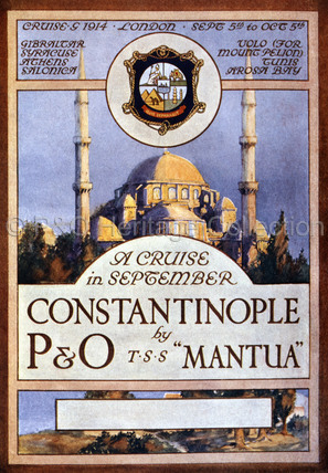 A Cruise in September by P&O, 1914