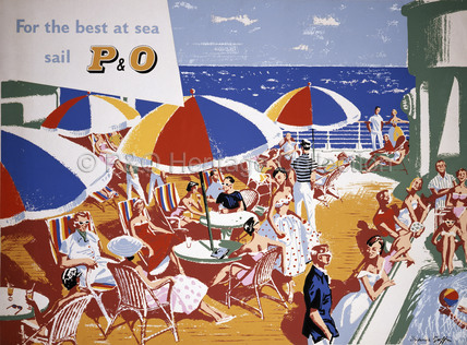 For the best at sea sail P&O