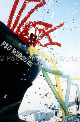 Naming of P&O NEDLLOYD KOBE