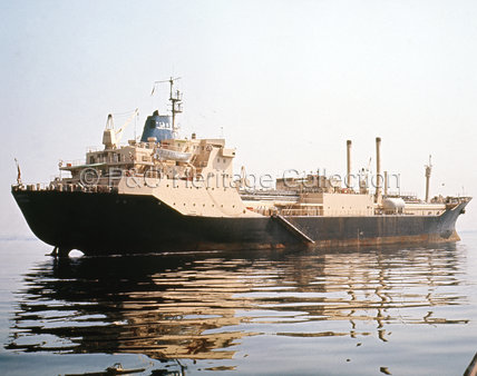 GAMBHIRA at sea