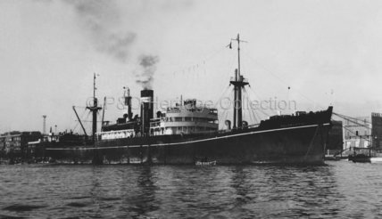 PALAMCOTTA anchored at Port Said
