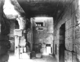 Interior of the Hathor Temple, Deir el-Medina