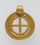 Anglo-Saxon gold pendant, found in Kent