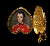 Locket with a Portrait of Lieut-Col. George Marlay