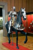 Armour for man and horse in 'Maximilian' Style, German