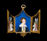 Locket with a portrait of James Marlay, aged 12