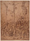 The Crucifixion, by Lucas Cranach the Elder