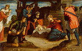 The Adoration of the Shepherds, by Tintoretto