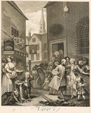 The Four Times of Day: Noon, by William Hogarth