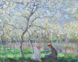 Springtime (Le Printemps), by Monet