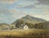 Haymaking at Dolwyddelan, by Paul Sandby