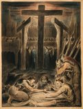 Soldiers Casting Lots for Christ's Garments, by William Blake