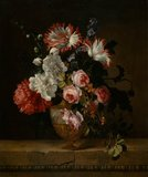 A vase of flowers, by Gerard van Spaendonck