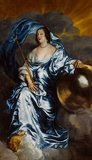 Countess Rachel de Ruvigny as Fortune, by van Dyck