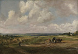 Hampstead Heath, by Constable