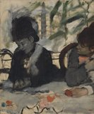 Au Cafe (At the Cafe), by Degas