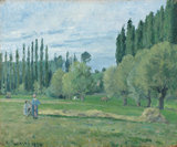 Haymaking, by Pissarro
