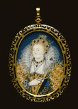 Queen Elizabeth I, by Nicholas Hilliard