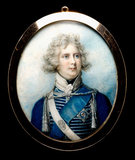 George IV as Prince Regent, by Richard Cosway