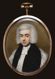 Samuel Hallifax, Bishop of Gloucester, by Henry Edridge
