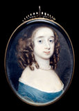 Elizabeth Capell, Countess of Carnarvon, by Richard Gibson