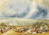 The Field of Waterloo, by Turner