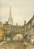 Gateway to the Close, Salisbury, by Turner