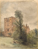 Layer Marney Towers, Essex, by Constable