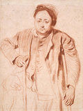 Portrait of Antoine de la Roque, by Watteau