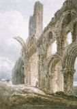 Lindisfarne Priory, by Thomas Girtin