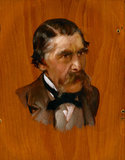 Sir Henry Thompson, by Lawrence Alma-Tadema