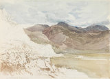 On the Road to Tremadoc, N. Wales, by David Cox the elder