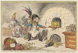 Tiddy-Doll the Great French Gingerbread-Baker, by Gillray